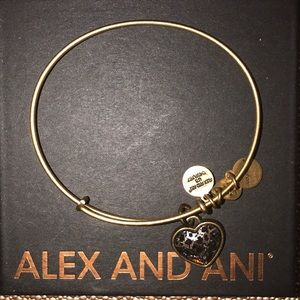 Alex and Ani heart bangle